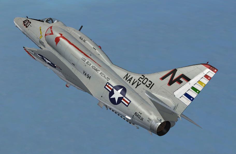 Virtavia Douglas A-4f Skyhawk Para Fsx Descargas