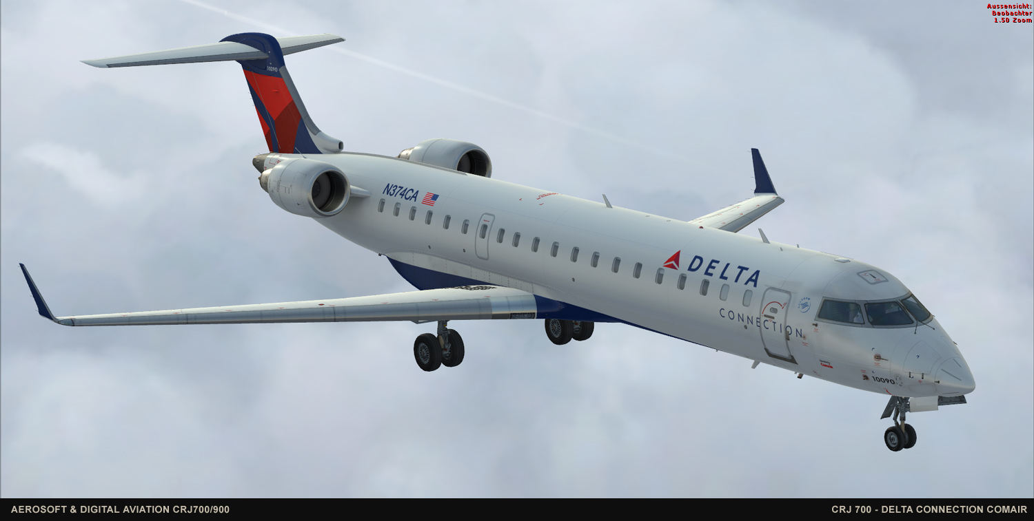 Fsx Delta Crj- 700 Related Keywords & Suggestions - Fsx Delta Crj